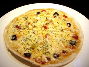 プッタネスカスタイルピザ